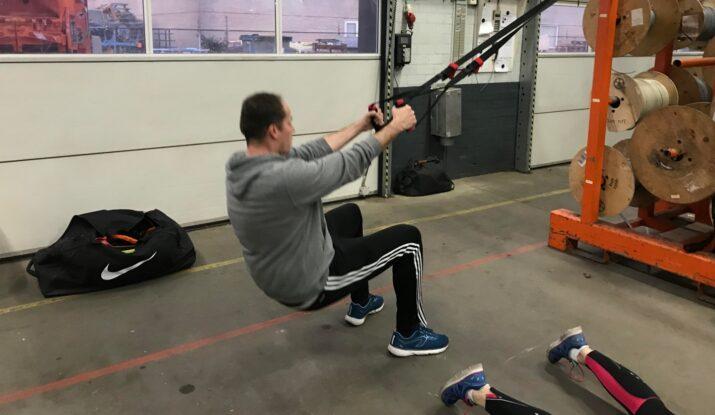 Raymond personal trainer bedrijfsfitness